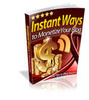 Thumbnail Ways to Monetize Your Blog