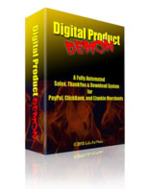 Product picture Digital Product Demon