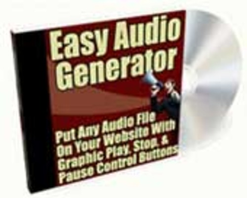Product picture Easy Audio Generator
