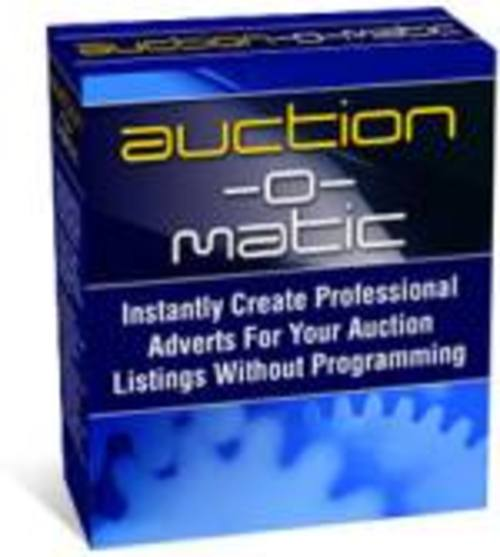 Product picture Auction-O-Matic Create Ebay Templates