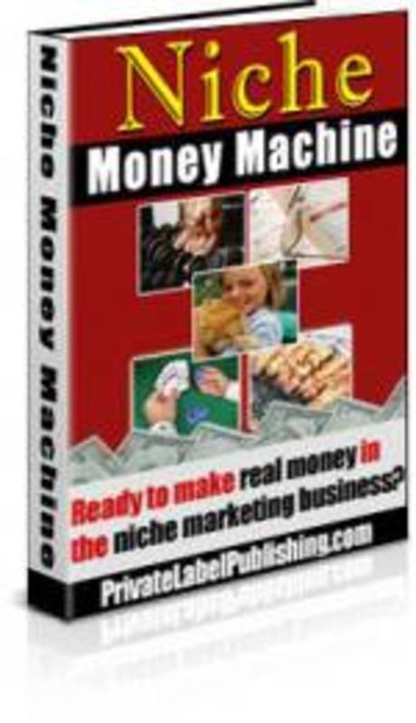 Product picture Niche Money Machine