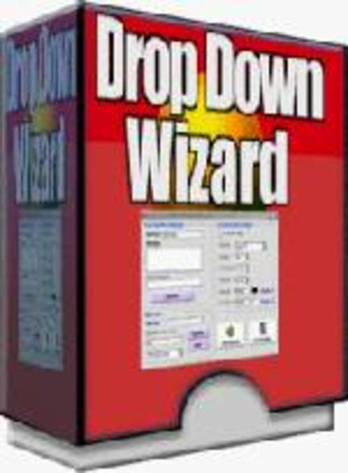 Product picture Drop Down Wizard Menu Creator Software