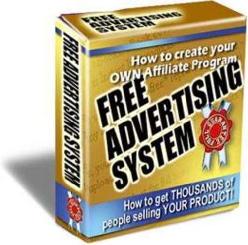 Product picture Free Advertising System