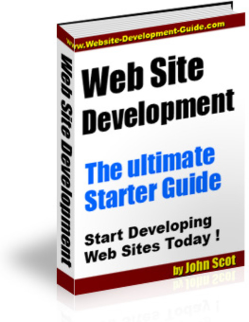 Product picture Web Site Development The Ultimate Starter Guide