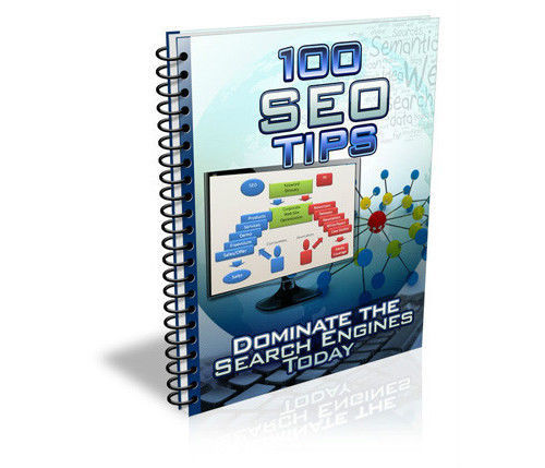 Product picture 100 SEO Tips Best selling ebook resale Rights included
