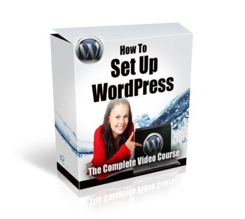 Product picture WORDPRESS SETUP VIDEO TRAINING COURSE WITH PLR RESELL RIGHTS